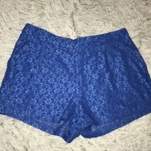 Blue Free People Shorts